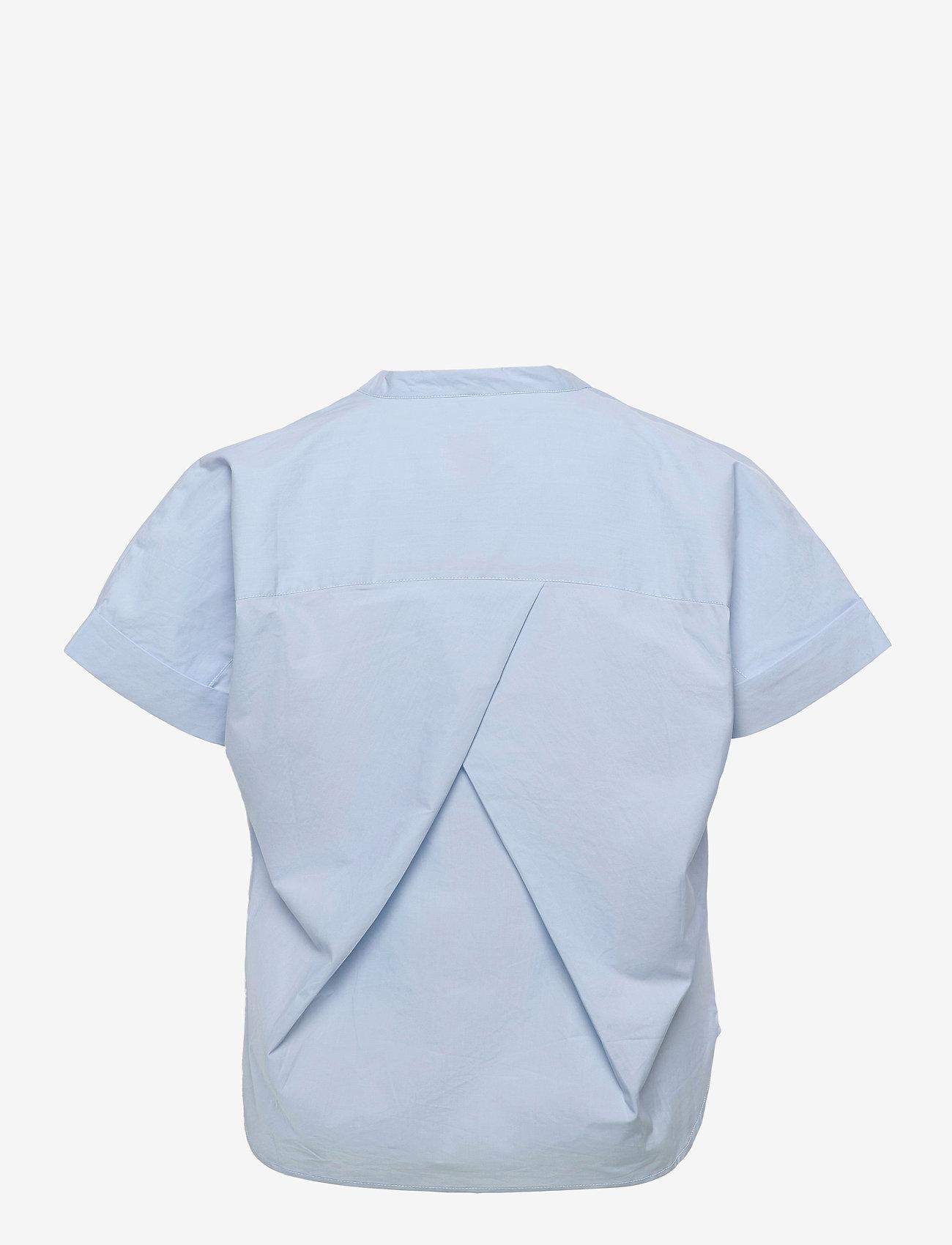ICHI - IHINKALA SS2 - short-sleeved blouses - cashmere blue - 1