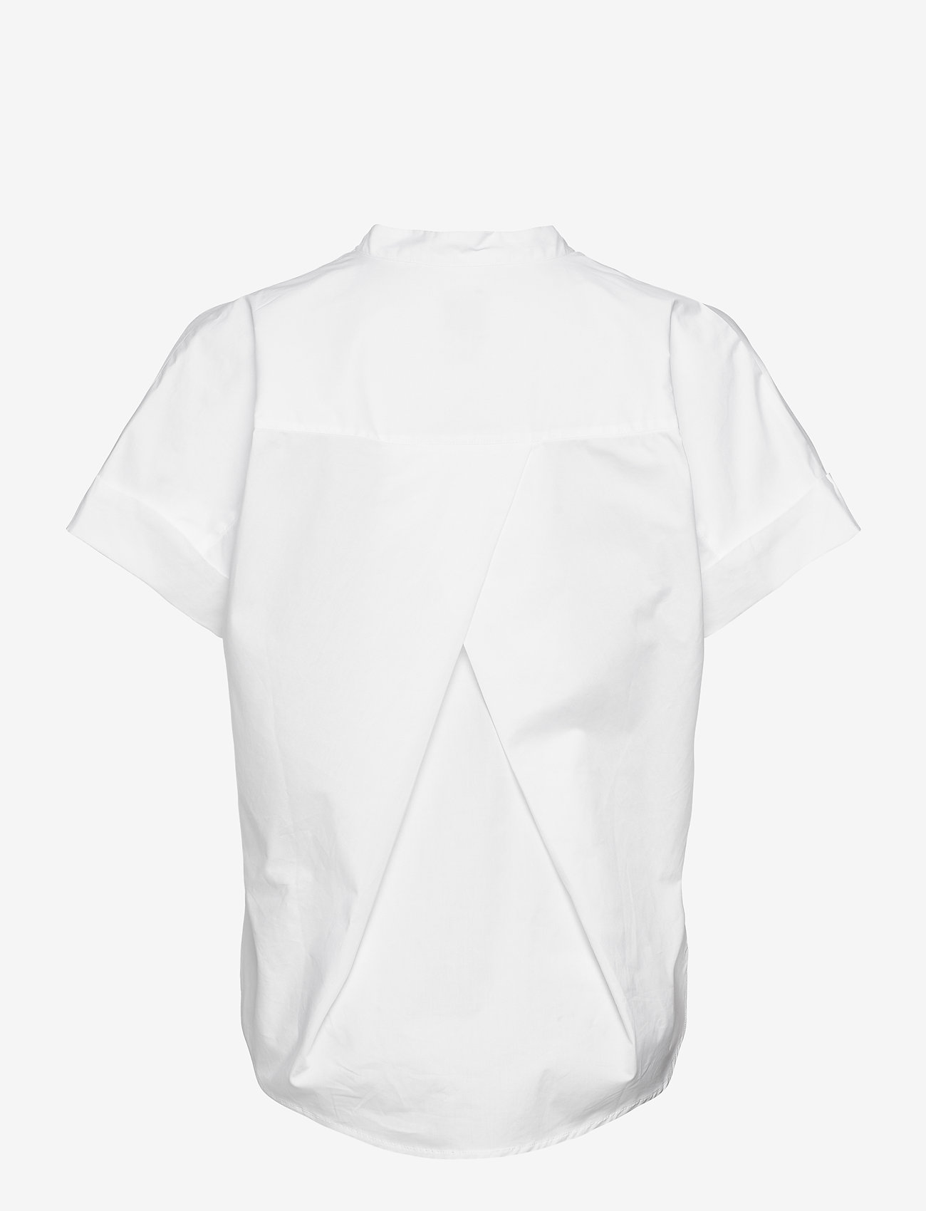 ICHI - IHINKALA SS2 - short-sleeved blouses - cloud dancer - 1
