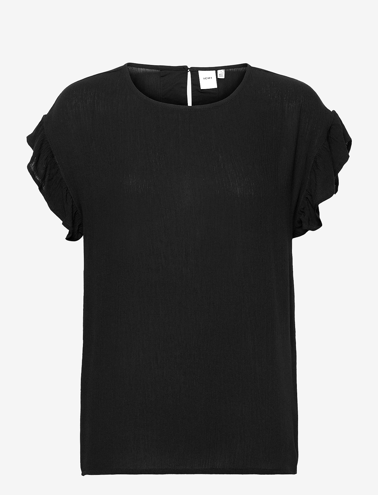 ICHI - IHMARRAKECH SO SS4 - short-sleeved blouses - black - 0