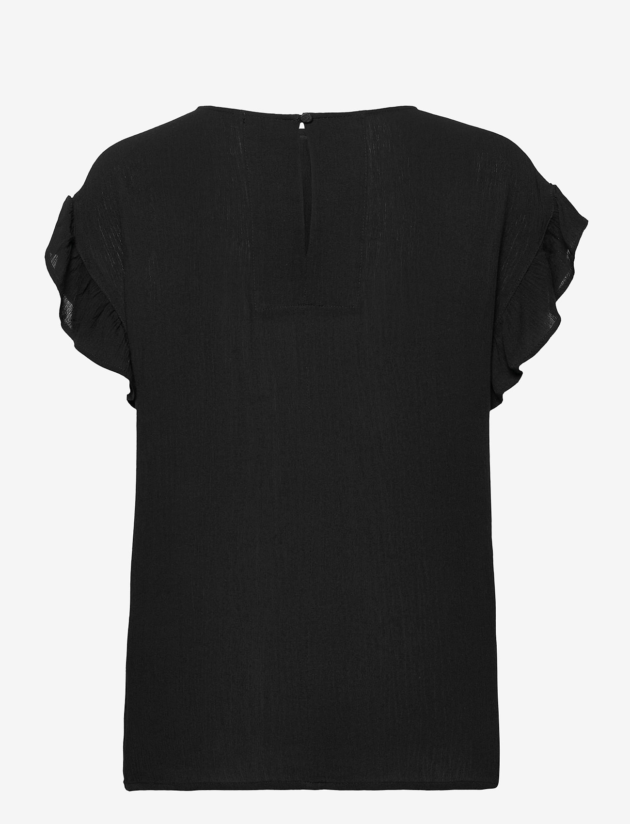ICHI - IHMARRAKECH SO SS4 - short-sleeved blouses - black - 1