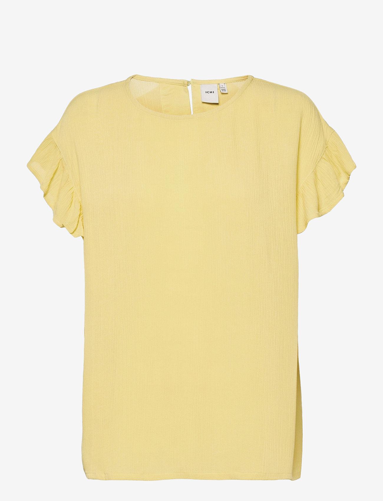 ICHI - IHMARRAKECH SO SS4 - short-sleeved blouses - golden mist - 0