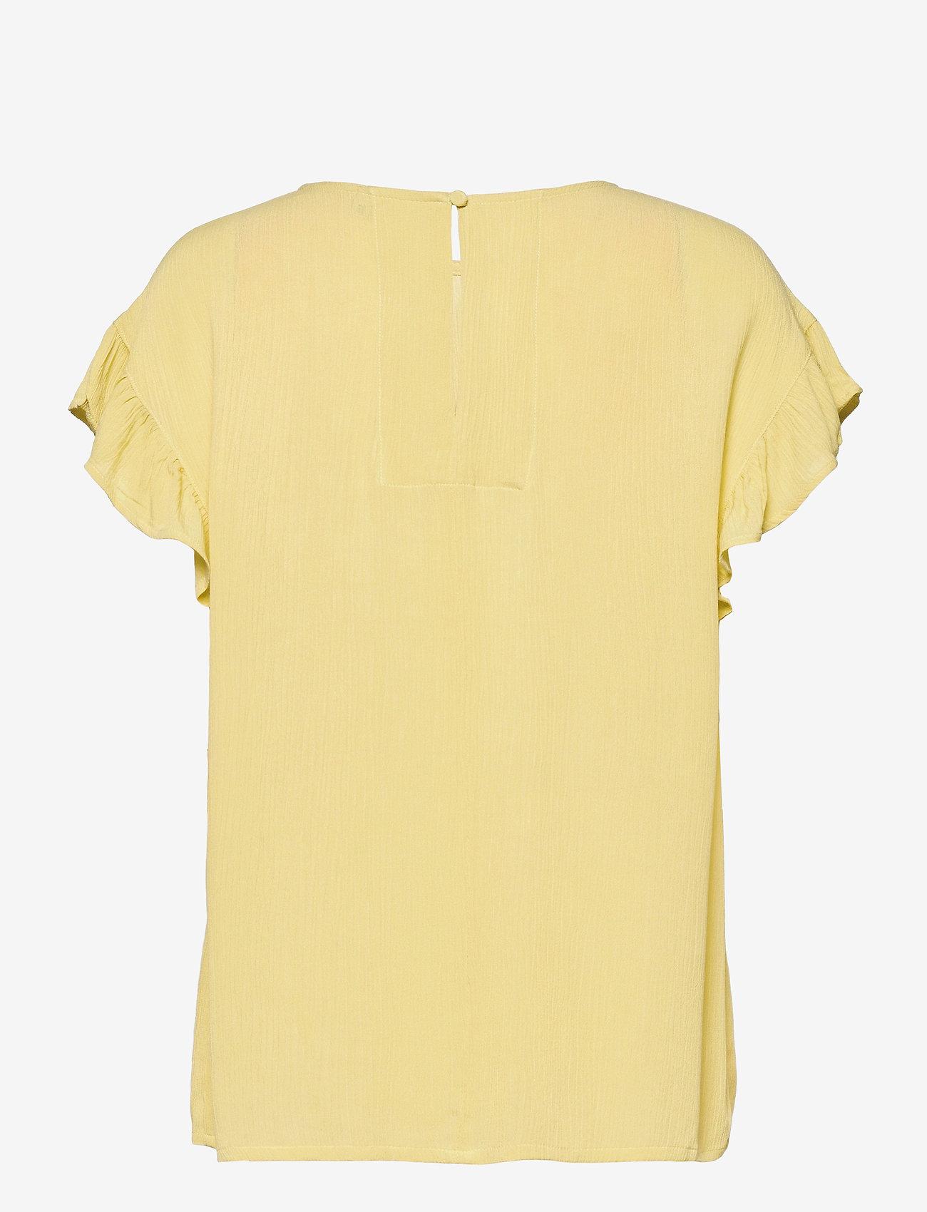 ICHI - IHMARRAKECH SO SS4 - short-sleeved blouses - golden mist - 1