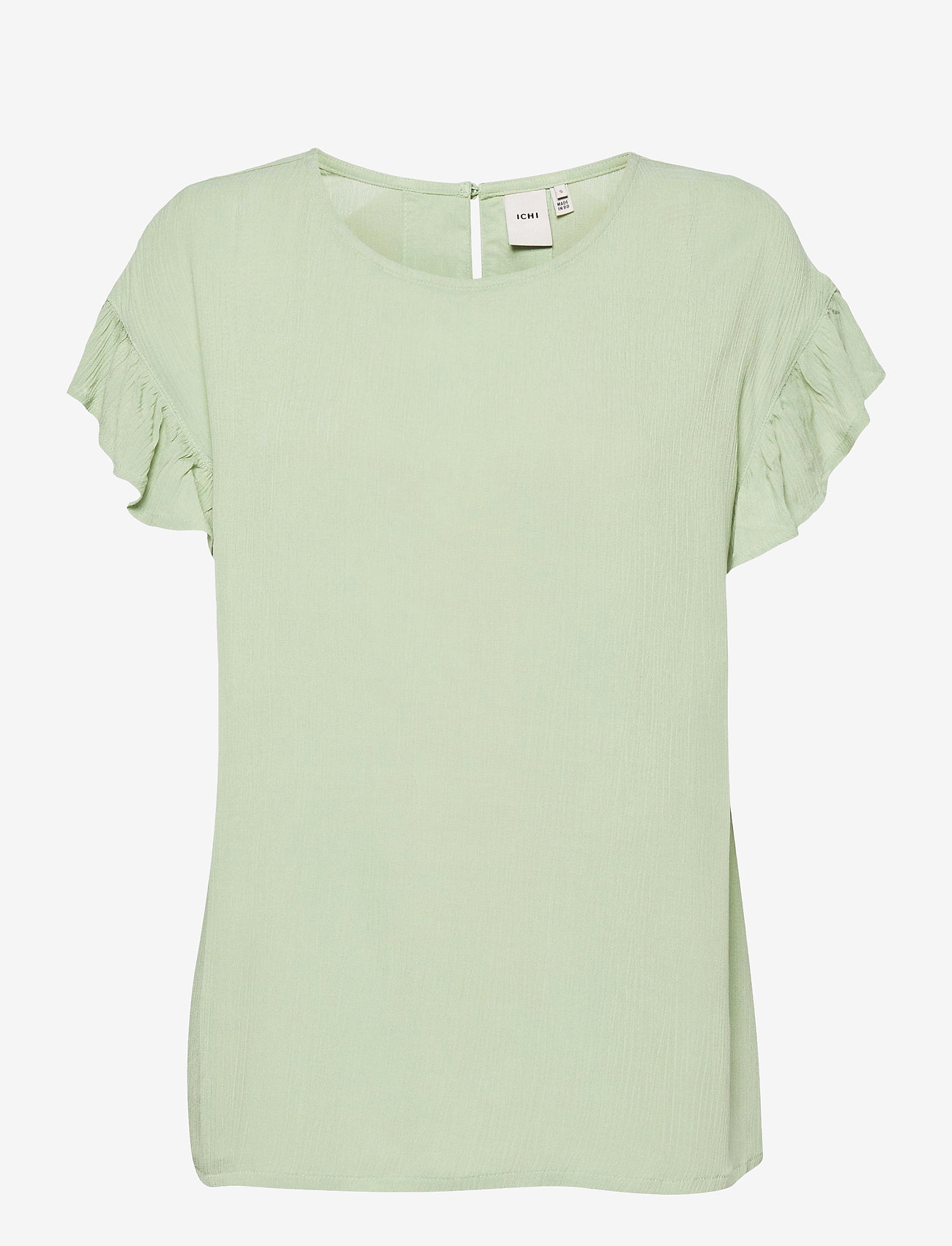 ICHI - IHMARRAKECH SO SS4 - short-sleeved blouses - swamp - 0