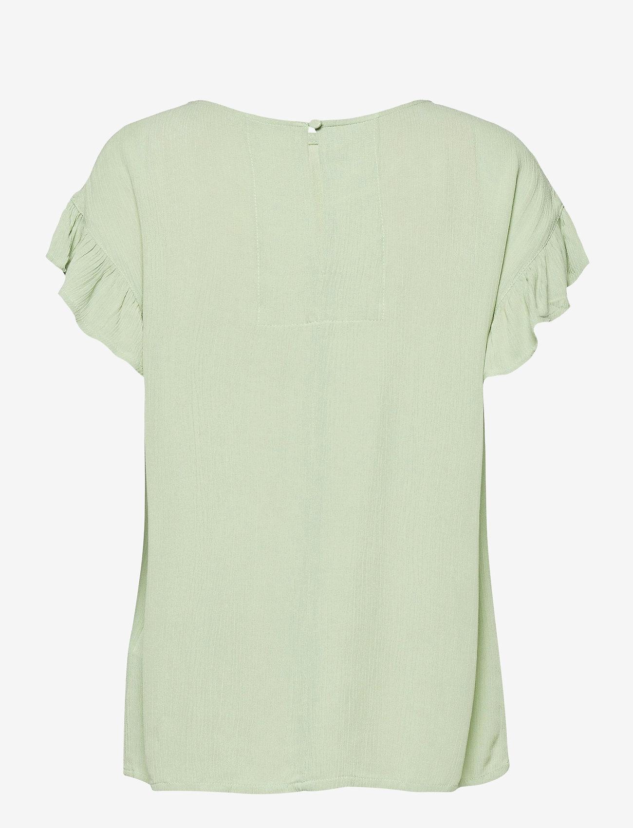 ICHI - IHMARRAKECH SO SS4 - short-sleeved blouses - swamp - 1