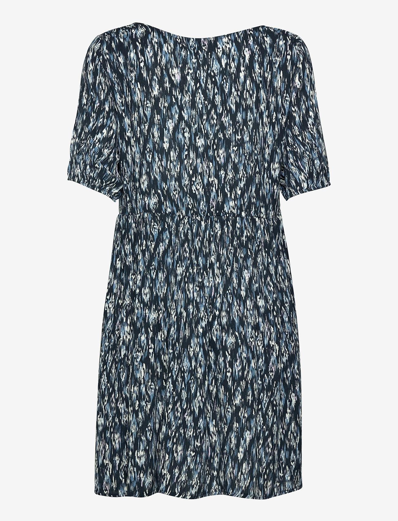 ICHI - IHMARRAKECH AOP DR7 - summer dresses - total eclipse - 1