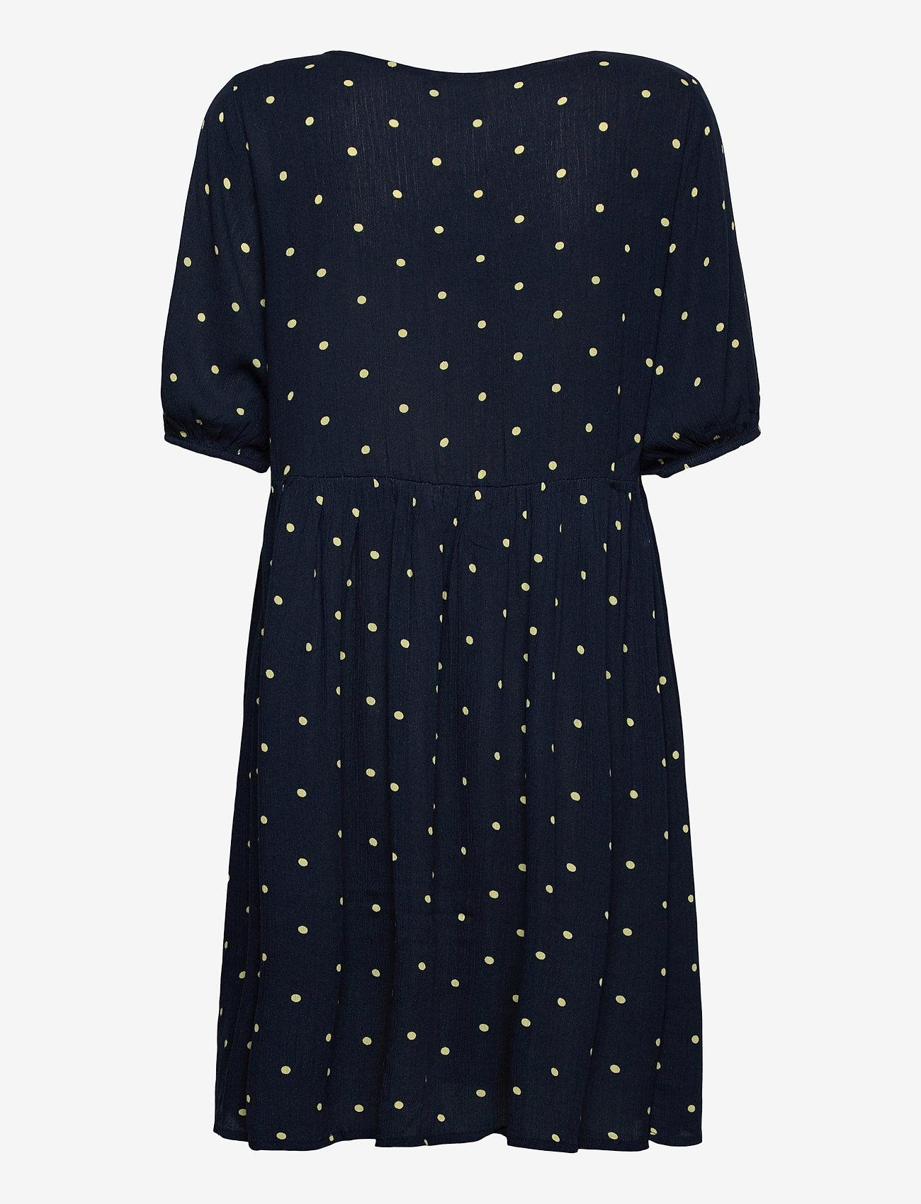 ICHI - IHMARRAKECH AOP DR7 - summer dresses - total eclipse dot - 1