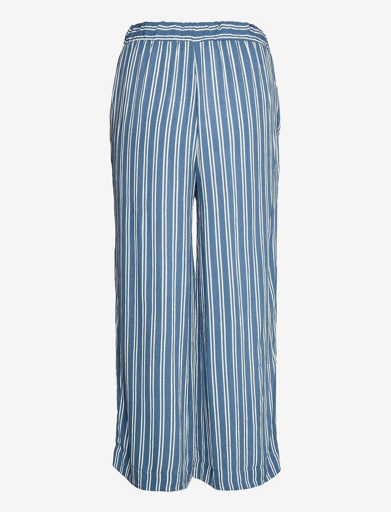 ICHI - IHMARRAKECH AOP PA - casual trousers - coronet blue - 1