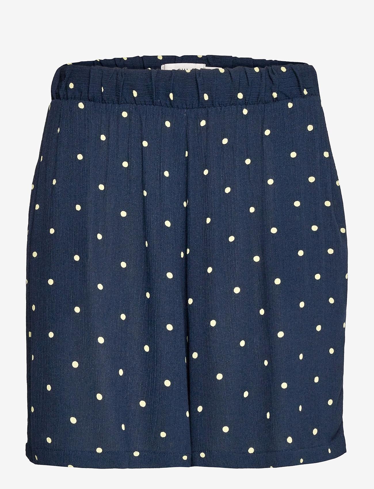 ICHI - IHMARRAKECH AOP SHO - casual shorts - total eclipse dot - 0