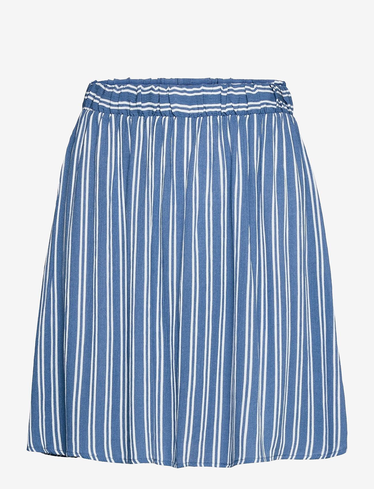 ICHI - IHMARRAKECH AOP SK - short skirts - coronet blue - 0