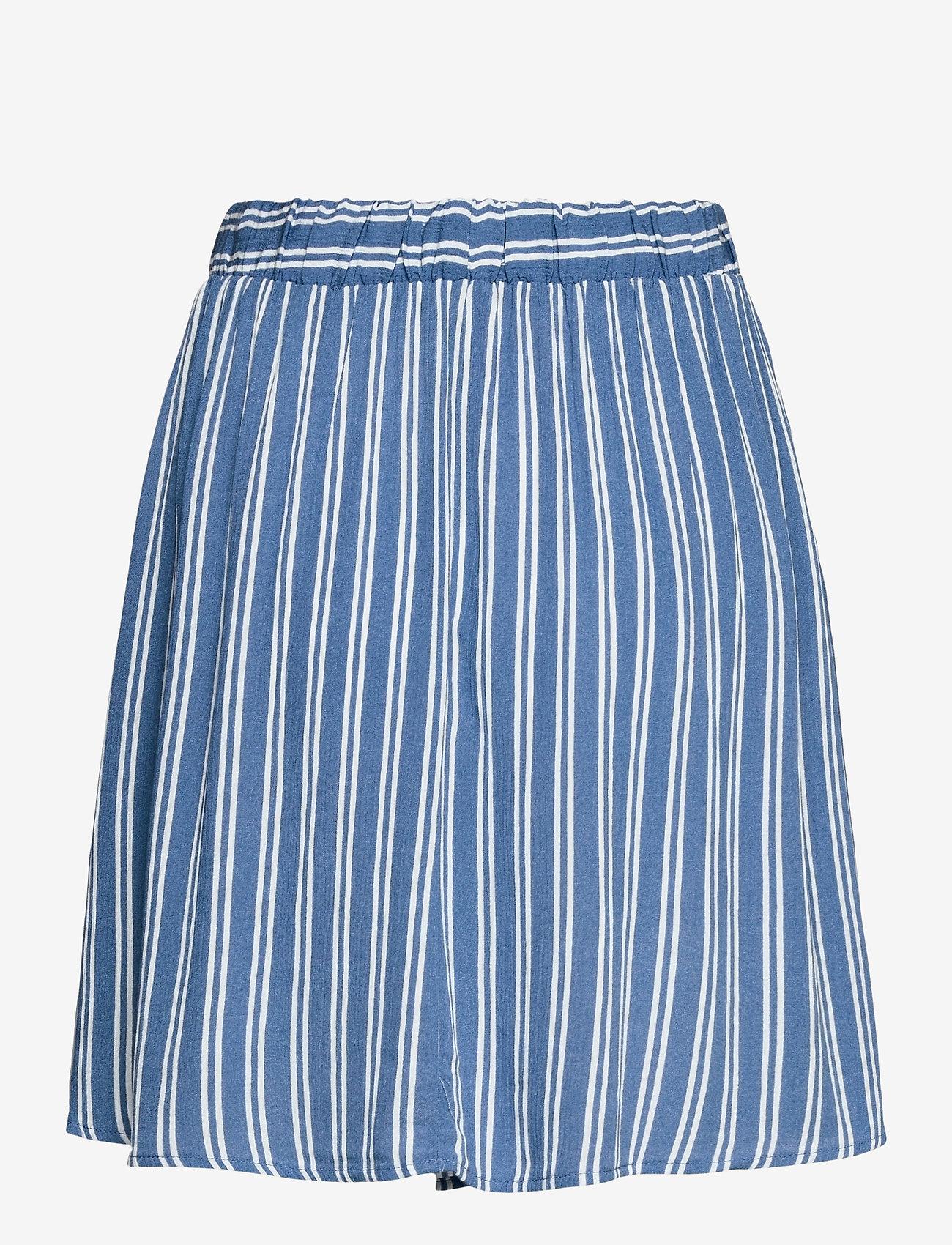 ICHI - IHMARRAKECH AOP SK - short skirts - coronet blue - 1