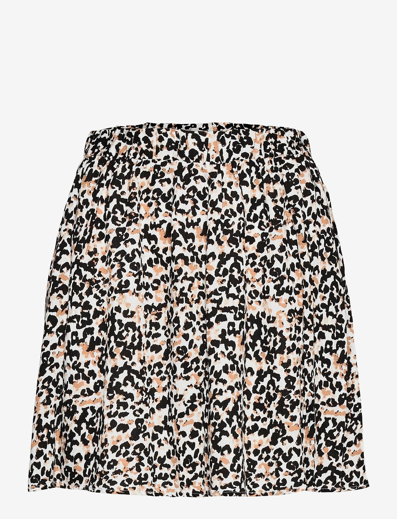 ICHI - IHMARRAKECH AOP SK - short skirts - tan - 0
