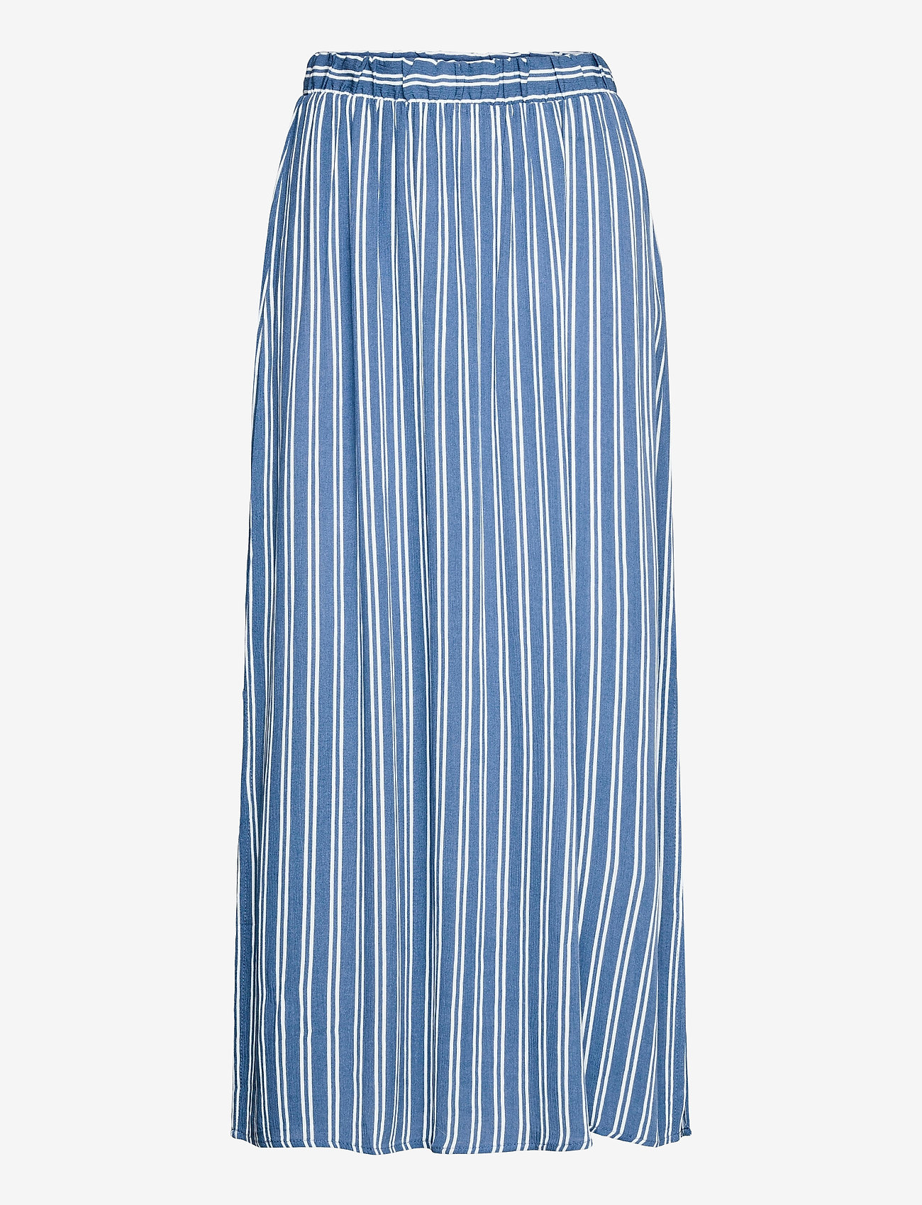 ICHI - IHMARRAKECH AOP SK3 - midi skirts - coronet blue - 0