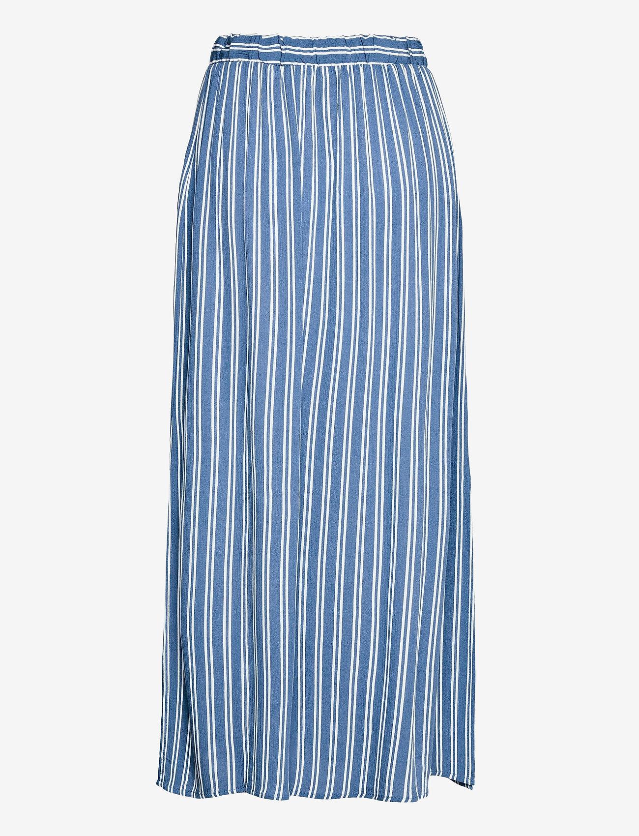 ICHI - IHMARRAKECH AOP SK3 - midi skirts - coronet blue - 1