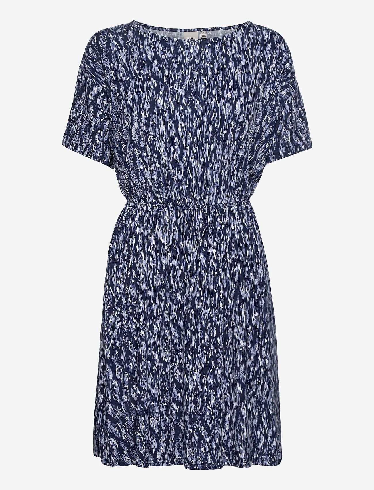 ICHI - IHLISA DR12 - summer dresses - cashmere blue - 0