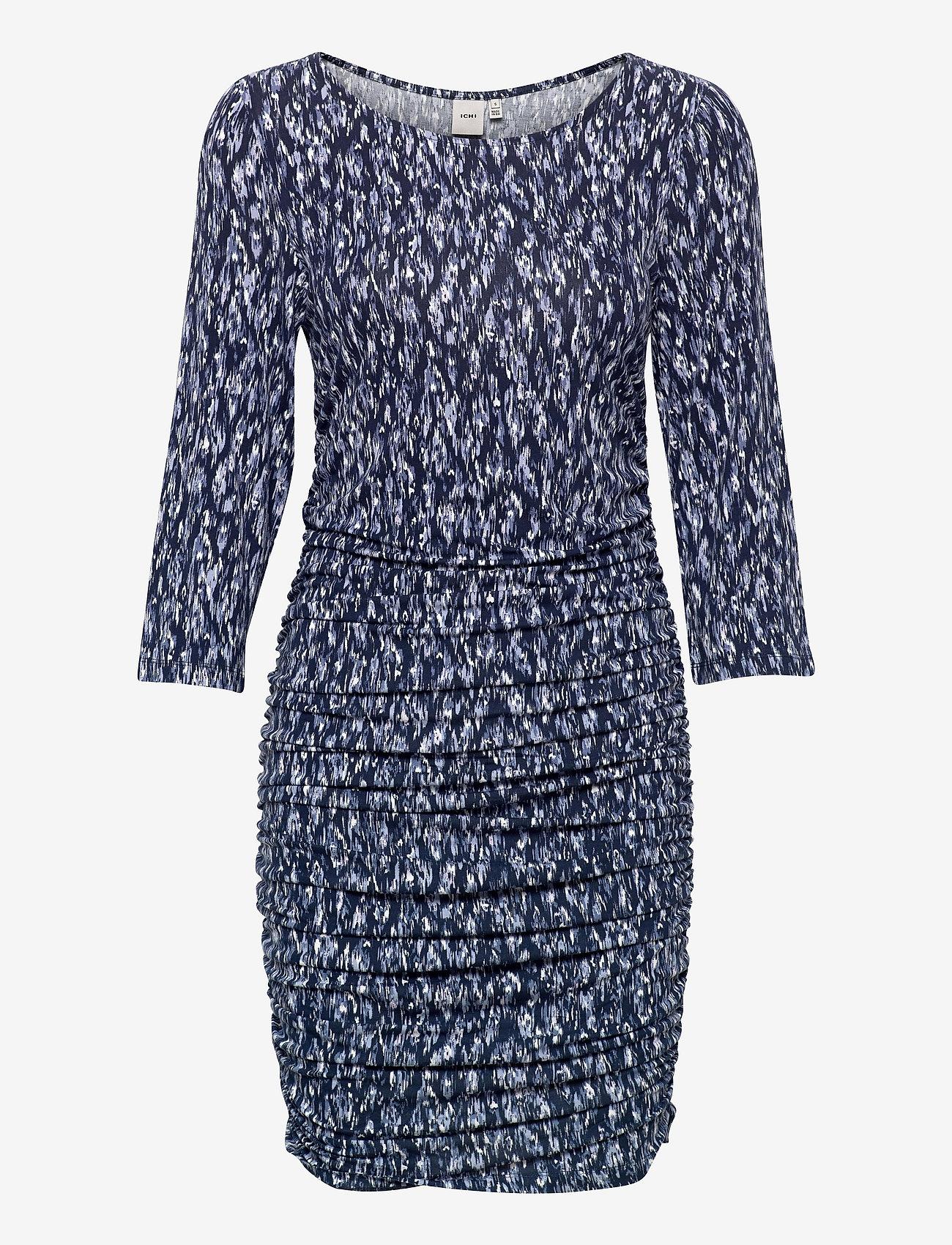 ICHI - IHLISA DR14 - midi dresses - cashmere blue - 0