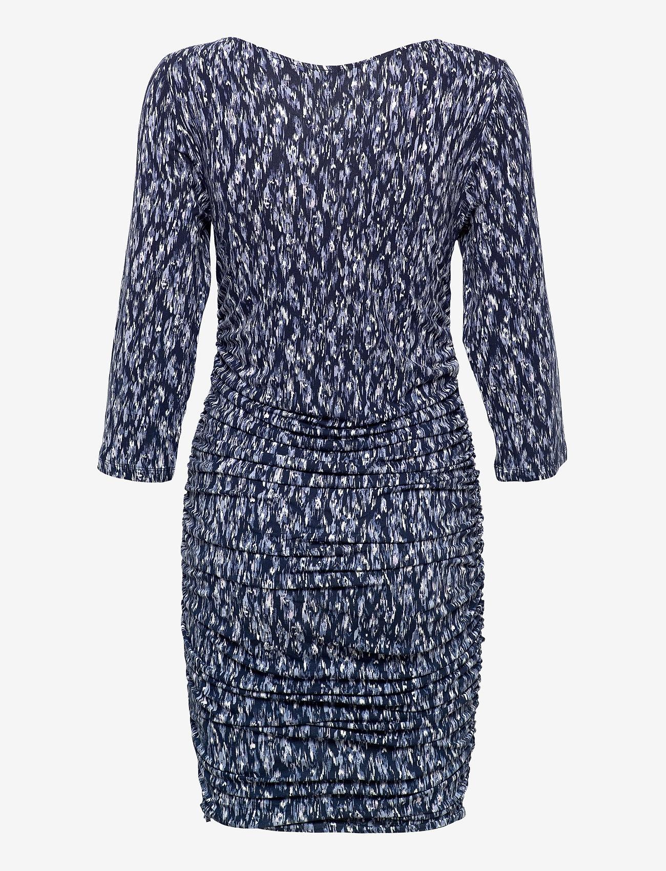 ICHI - IHLISA DR14 - midi dresses - cashmere blue - 1