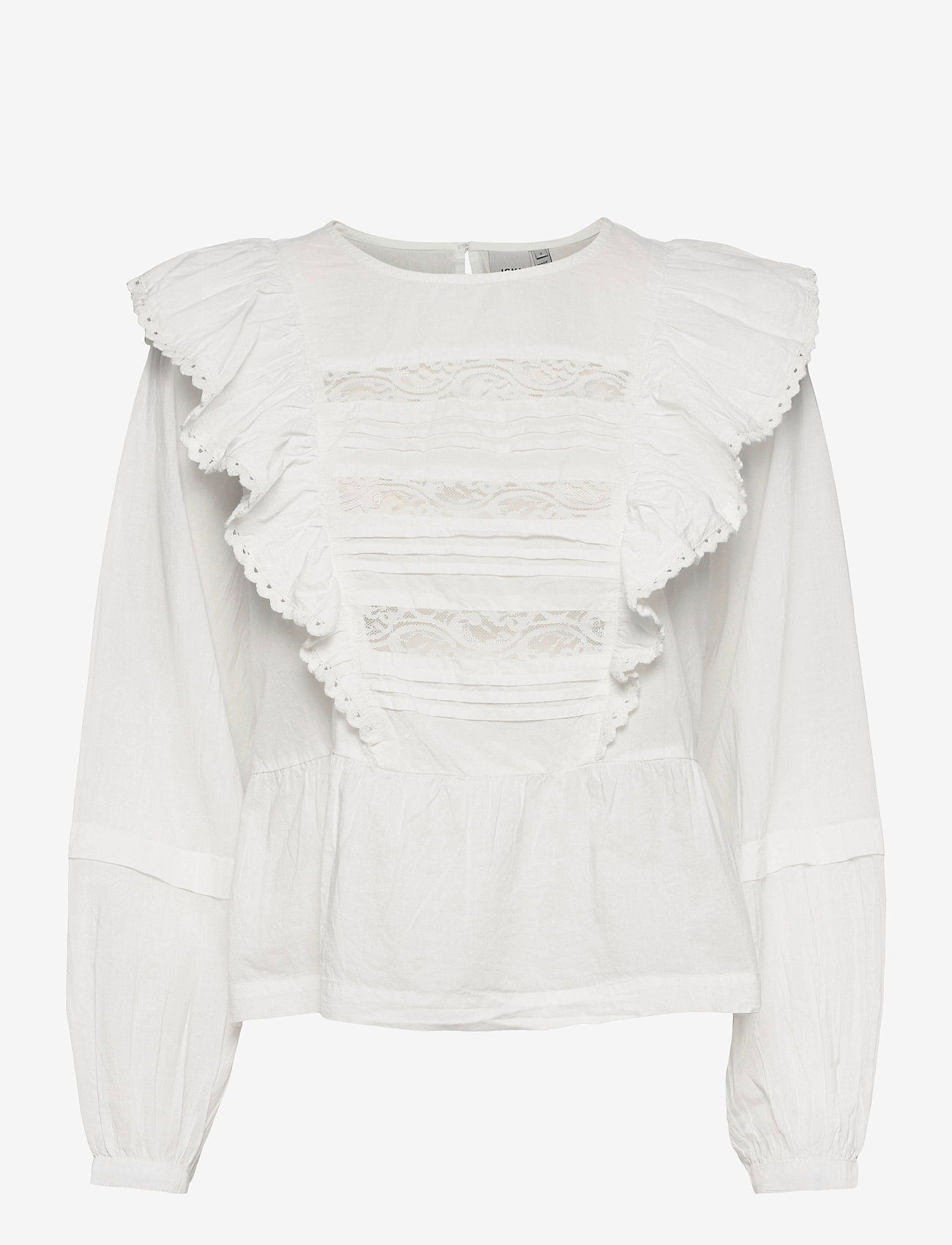 ICHI - IHVAIANA LS - long sleeved blouses - cloud dancer - 0