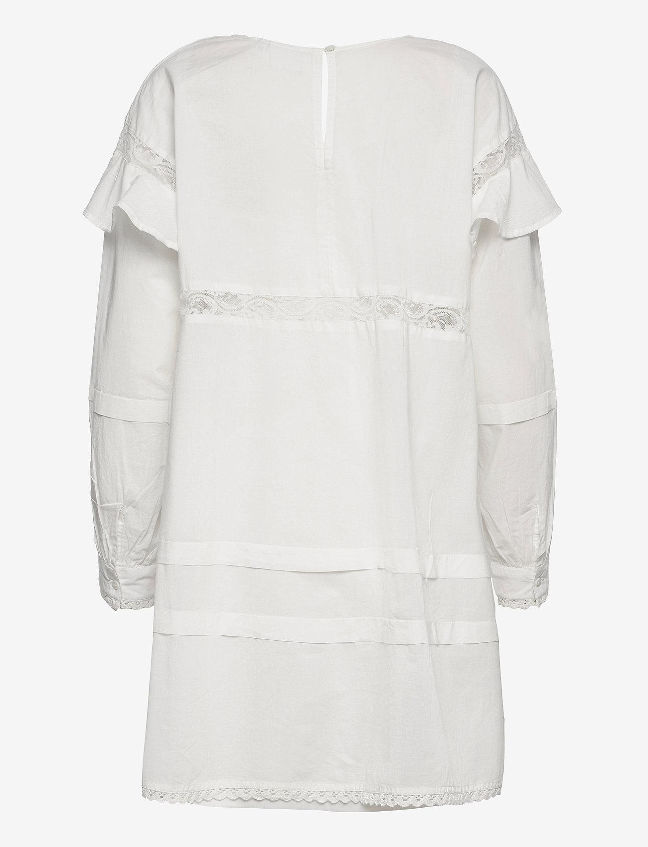 ICHI - IHVAIANA DR - summer dresses - cloud dancer - 1