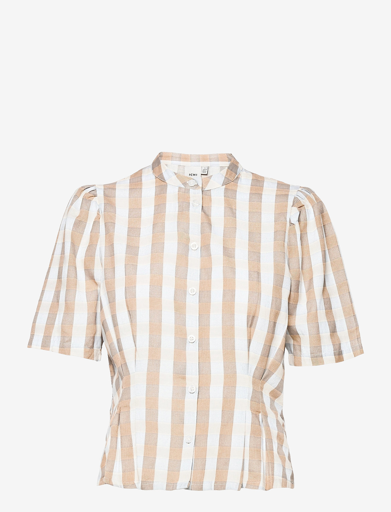 ICHI - IHJULYA SH - short-sleeved shirts - tan - 0