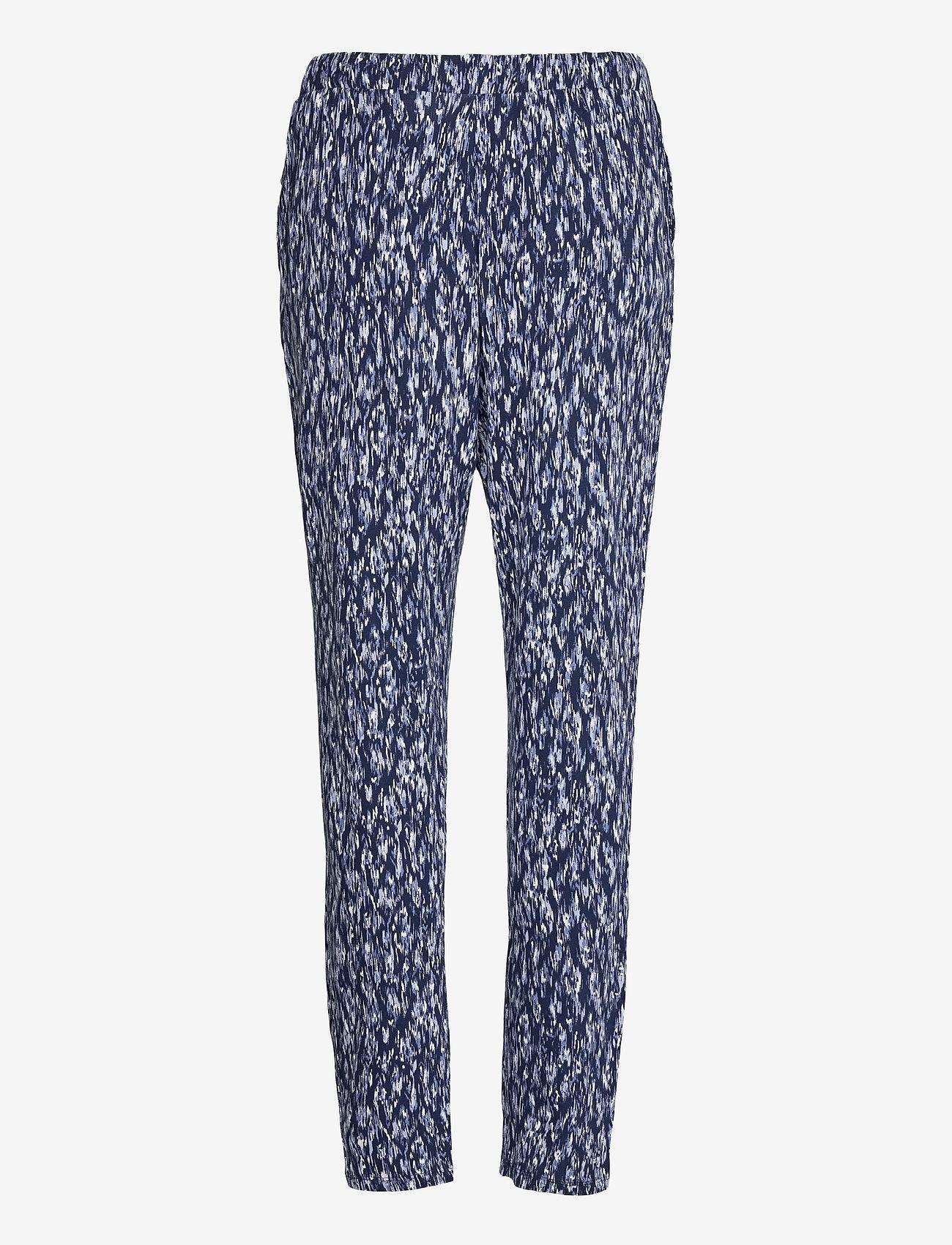 ICHI - IHLISA PA7 - casual trousers - cashmere blue - 1