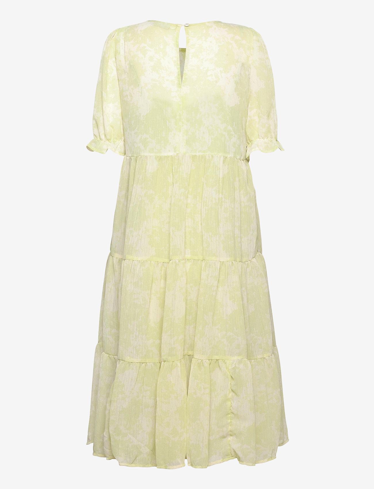 ICHI - IHSAMSA DR2 - midi dresses - swamp - 1