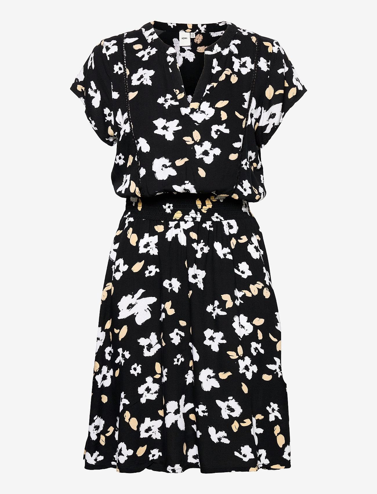 ICHI - IHFLORENTINA DR - summer dresses - black - 0