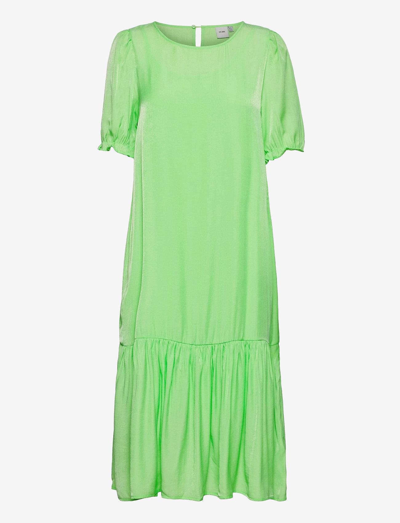 ICHI - IHEDINA DR - summer dresses - paradise green - 0