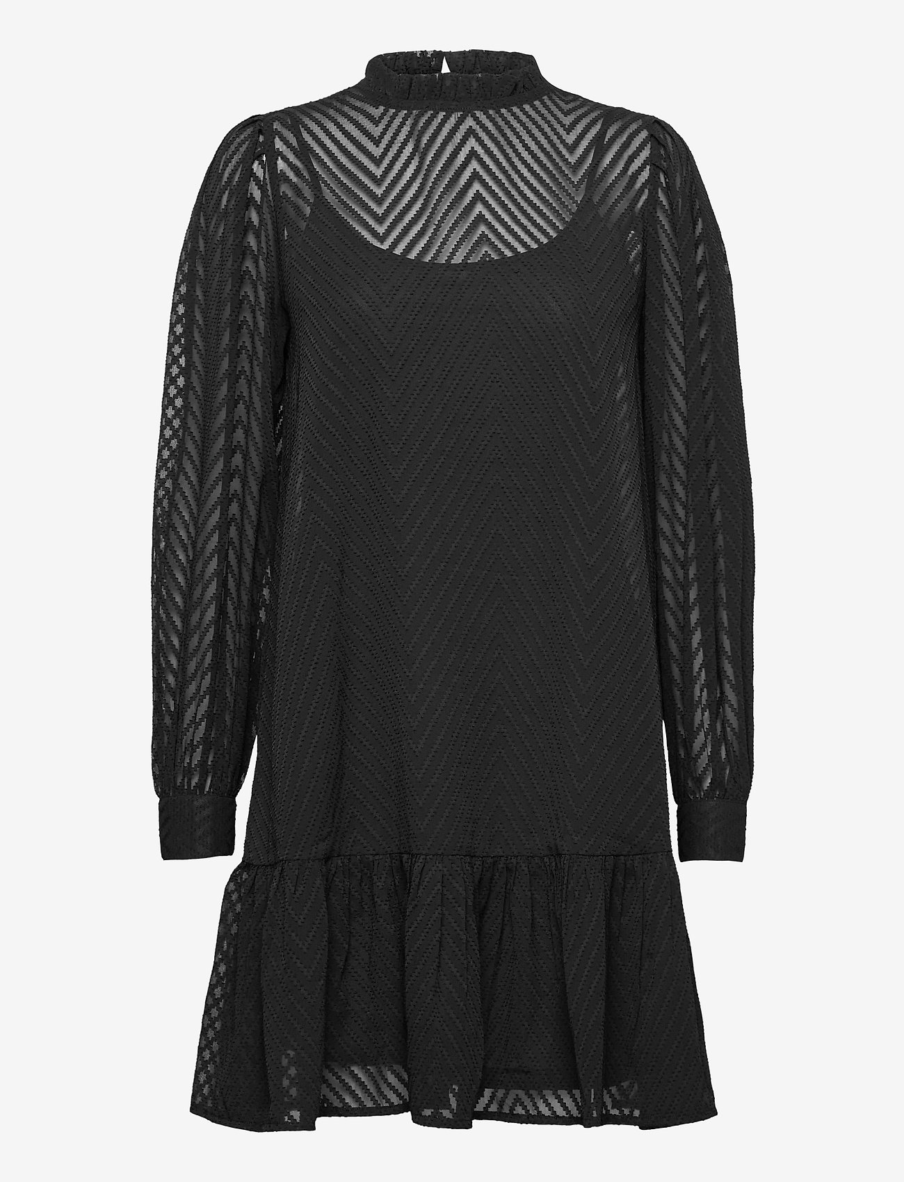 ICHI - IXDONA DR - everyday dresses - black - 0