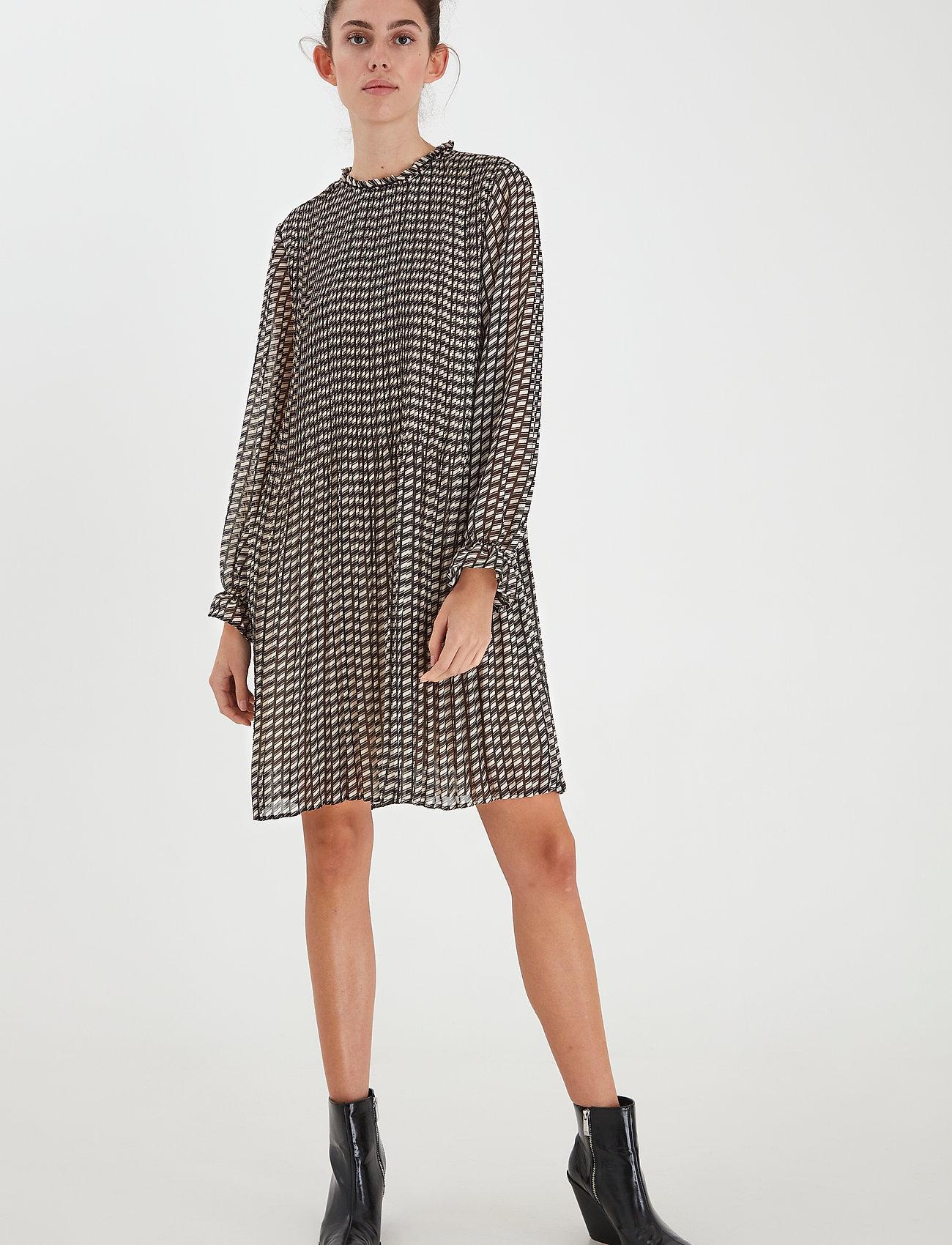 ICHI - IHNALLY DR2 - everyday dresses - tapioca - 0