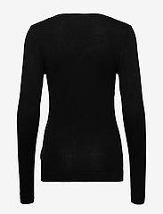 ICHI - IHMAFA ROUND LS - jumpers - black - 1