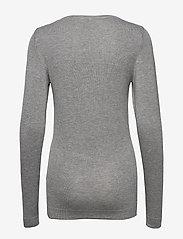 ICHI - IHMAFA ROUND LS - jumpers - grey melange - 1