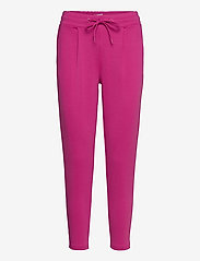 ICHI - IHKATE PA CROPPED - casual trousers - fuchsia red - 0