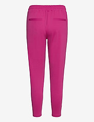 ICHI - IHKATE PA CROPPED - casual trousers - fuchsia red - 1