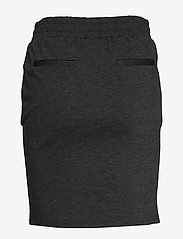 ICHI - IHKATE SK - short skirts - dark grey melange - 1