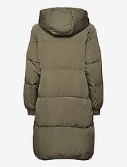 ICHI - BUNALA DOWN JA - parka coats - deep lichen green - 2