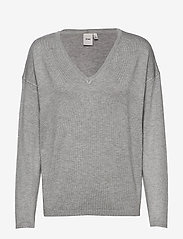 ICHI - IHMAFA V LS2 - jumpers - grey melange - 0