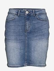 ICHI - IHTWIGGY SK - denim skirts - light blue - 0