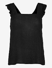 ICHI - IHMARRAKECH SO TO2 - sleeveless blouses - black - 0