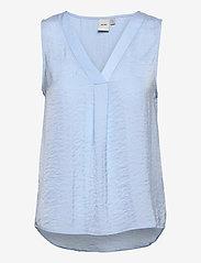 ICHI - IHCRISSY TO2 - sleeveless blouses - cashmere blue - 0