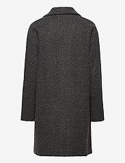 ICHI - IHHENRIKA JA - wool coats - dark grey melange - 1