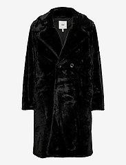ICHI - IHHAYA JA - faux fur - black - 0