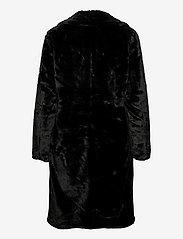 ICHI - IHHAYA JA - faux fur - black - 1