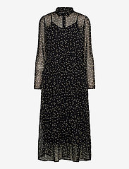ICHI - IHBETTY DR2 - midi dresses - black - 0