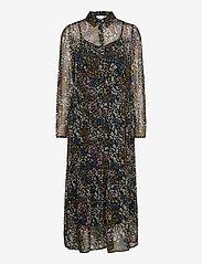 ICHI - IHBETTY DR2 - midi dresses - riviera - 0