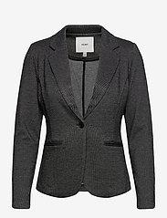 ICHI - IHKATE JACQUARD BL - getailleerde blazers - black - 0