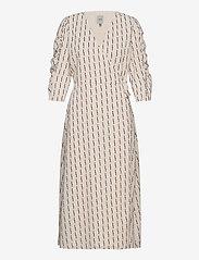 ICHI - IHLYLA DR - wrap dresses - tapioca - 0