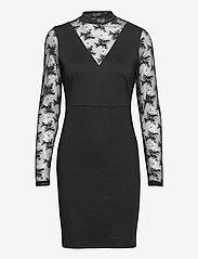 ICHI - IHKATE LACE DR2 - bodycon dresses - black - 0