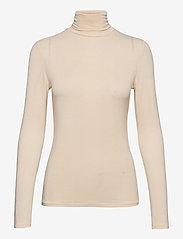 ICHI - IHPHILUCA LS - t-shirt & tops - tapioca - 0