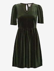 ICHI - IHRIANNA DR - midi dresses - kombu green - 0