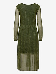 ICHI - IHJAKOBINE DR - midi dresses - kombu green - 1